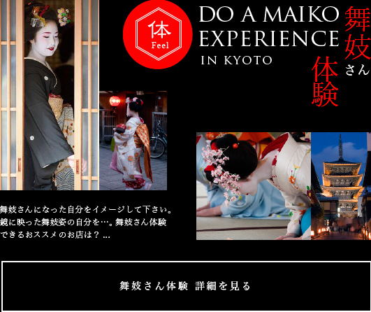 Experience Of Maiko