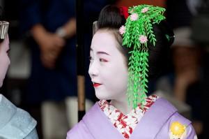Maiko,Masaki san of Gion-Kobu