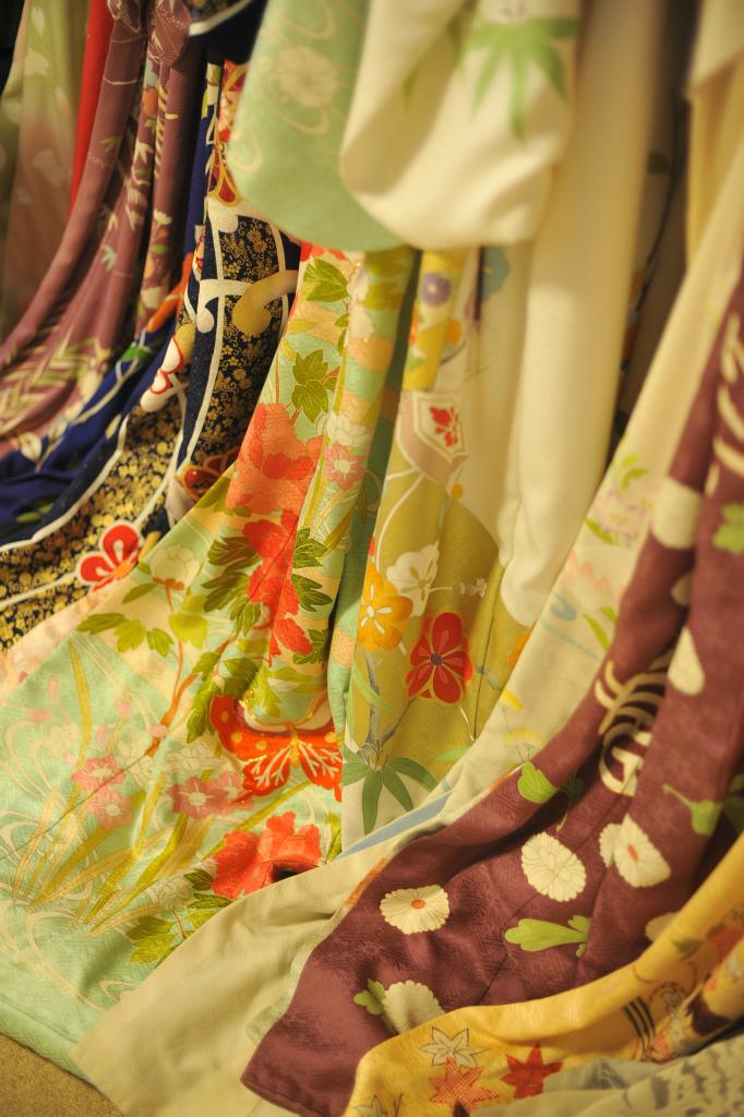 'Ohikizuri'-maiko's kimono