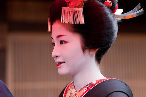 Maiko,Satsuki san of Gion-Kobu