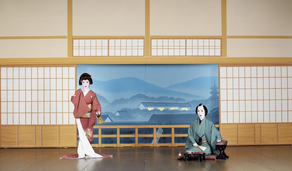 Geiko,Tuneari san(left) and Masami san