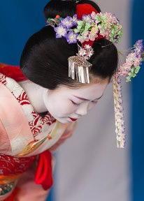 Umechie san when she was still'minarai san
