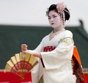 Heian Shirine Dedicated Dance Ceremony