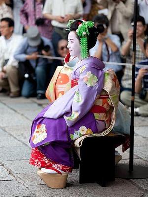 Maiko, Masaki san of Gion-Kobu